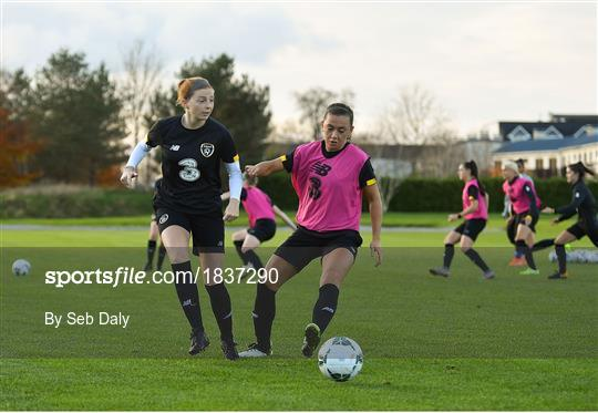 Republic of Ireland WNT Training Session