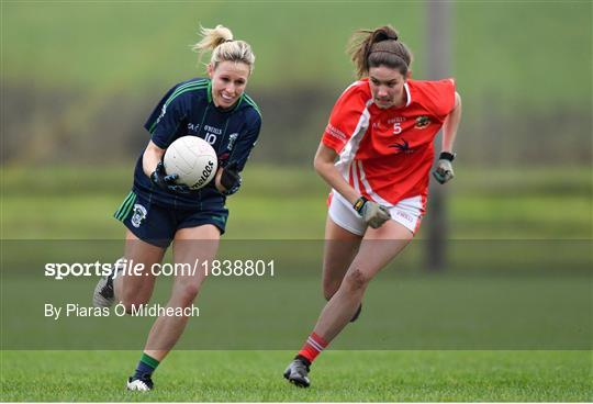 Kilkerrin - Clonberne v Foxrock - Cabinteely - All-Ireland Ladies Football Senior Club Championship Semi-Final