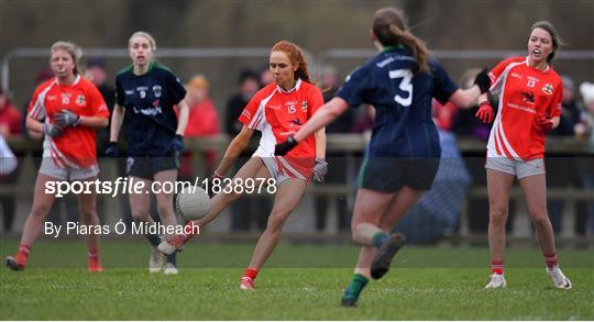Kilkerrin - Clonberne v Foxrock - Cabinteely - All-Ireland Ladies Football Senior Club Championship Semi-Final