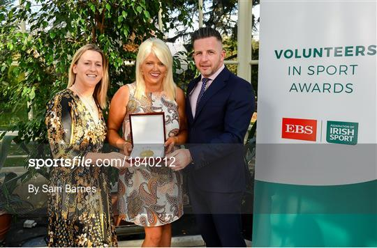 Volunteers in Sport Awards presented by Federation of Irish Sport with EBS