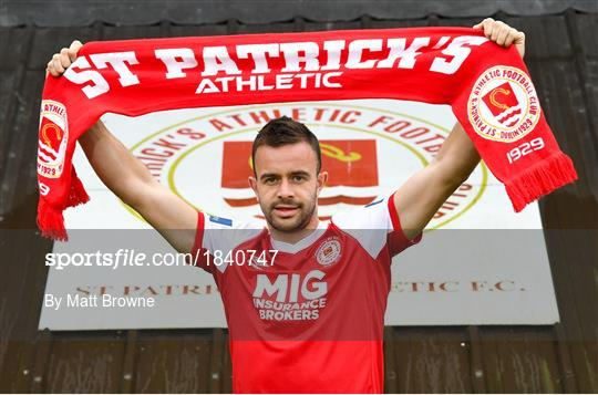 New St Patrick's Athletic Signing Robbie Benson