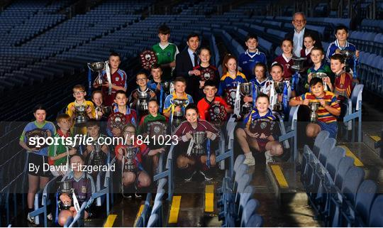 Allianz Cumann na mBunscol – Winning Dublin Captains