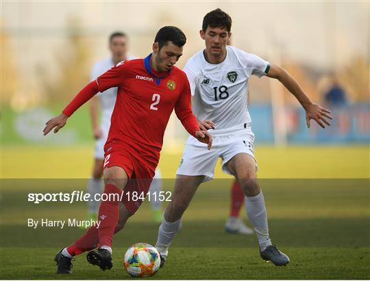 Armenia v Republic of Ireland - UEFA European U21 Championship Qualifier Group 1