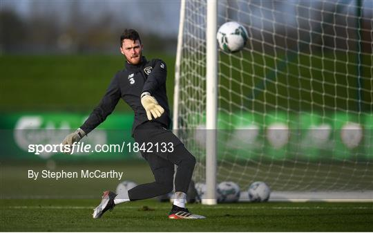 Republic of Ireland Training Session
