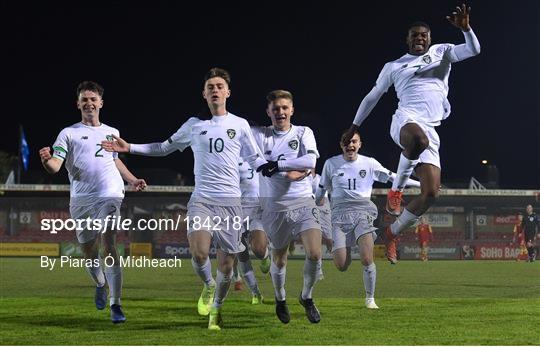 Republic of Ireland v Montenegro - Under-17 UEFA European Championship Qualifier