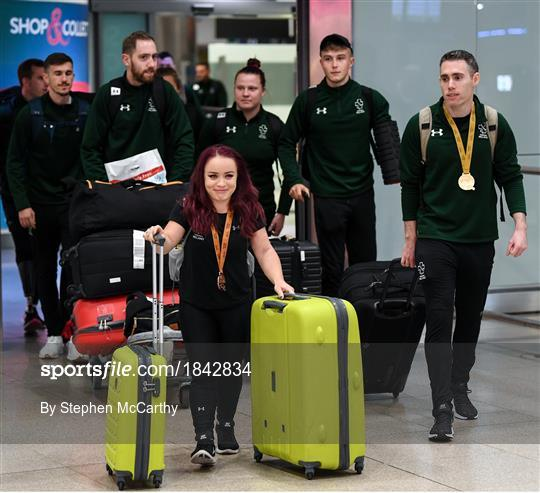 Team Ireland return from World Para Athletics Championships 2019