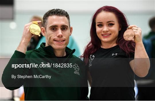 Team Ireland return from World Para Athletics Championships 2019