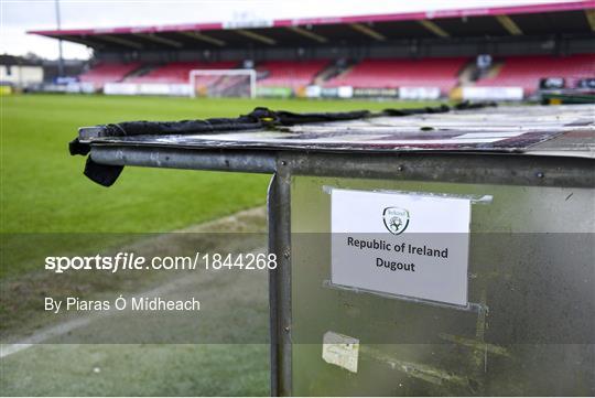 Republic of Ireland v Israel - UEFA Under-17 European Championship Qualifier