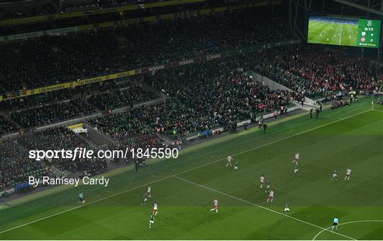 Republic of Ireland v Denmark - UEFA EURO2020 Qualifier - Group D