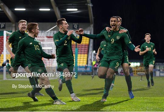 Republic of Ireland v Sweden - UEFA European U21 Championship Qualifier