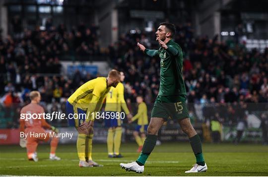 Republic of Ireland v Sweden - UEFA European U21 Championship Qualifier