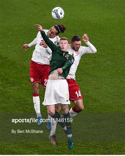 Republic of Ireland v Denmark - UEFA EURO2020 Qualifier