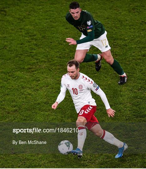 Republic of Ireland v Denmark - UEFA EURO2020 Qualifier