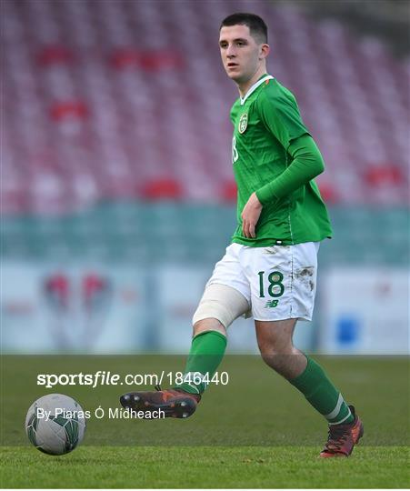 Republic of Ireland v Israel - UEFA Under-17 European Championship Qualifier