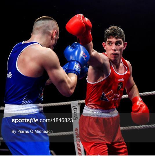IABA Irish National Elite Boxing Championships - Finals