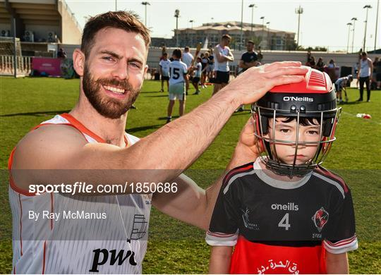 PwC All Star Hurling Tour 2019 - Coaching session