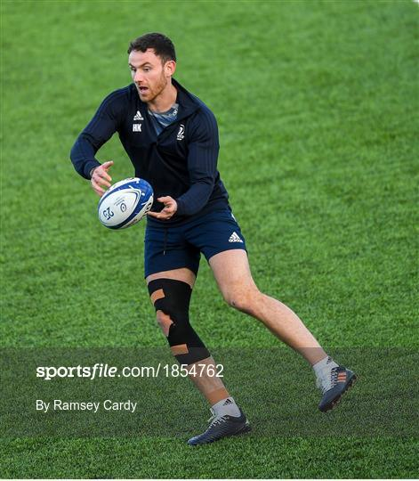 Leinster Rugby Press Conference and Squad Training