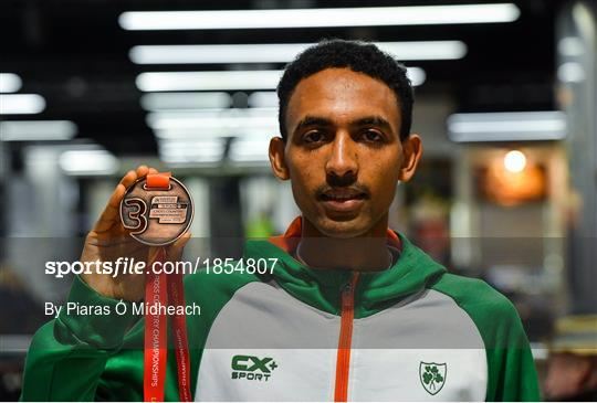 Ireland European Cross Country Team Homecoming