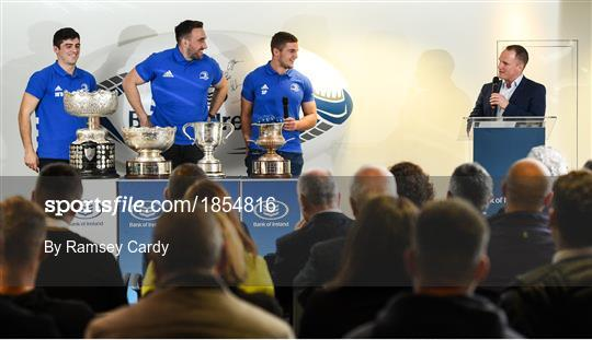 2020 Bank of Ireland Leinster Rugby Schools Cup First Round Draw
