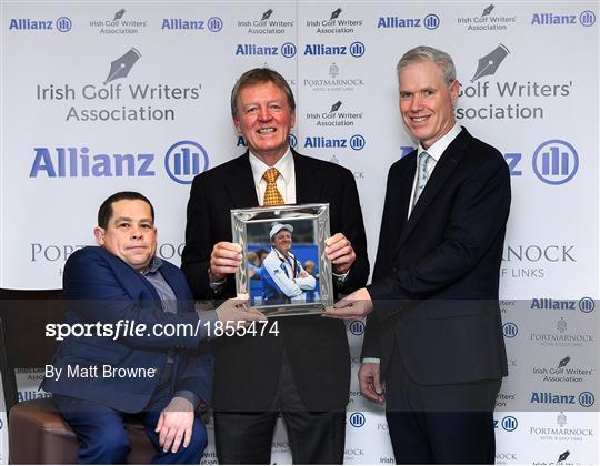 The Irish Golf Writers Association Awards