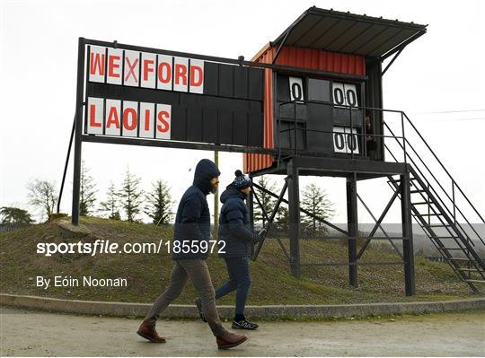 Wexford v Laois - 2020 O'Byrne Cup Round 2