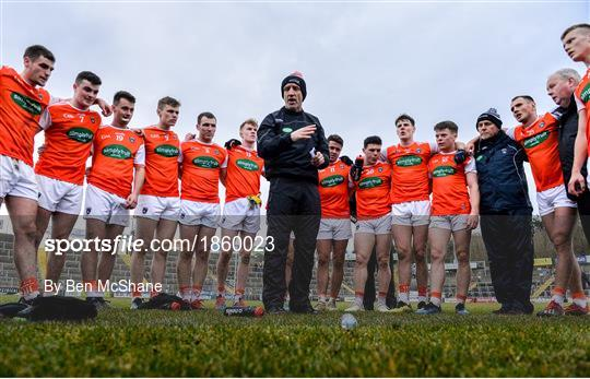 Cavan v Armagh - Bank of Ireland Dr McKenna Cup Round 1