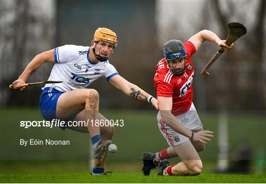 Waterford v Cork - Co-op Superstores Munster Hurling League 2020 Group B