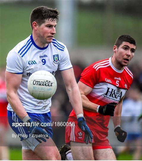 Monaghan v Derry - Bank of Ireland Dr McKenna Cup Round 1