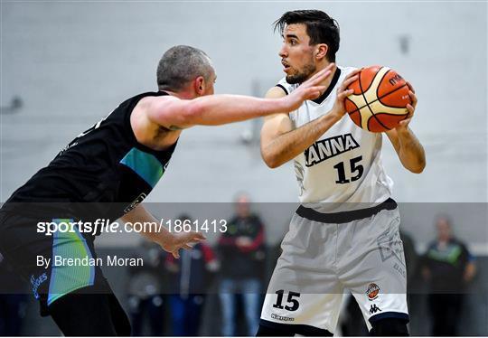 Garveys Warriors Tralee v DBS Eanna - Basketball Ireland Men's Superleague