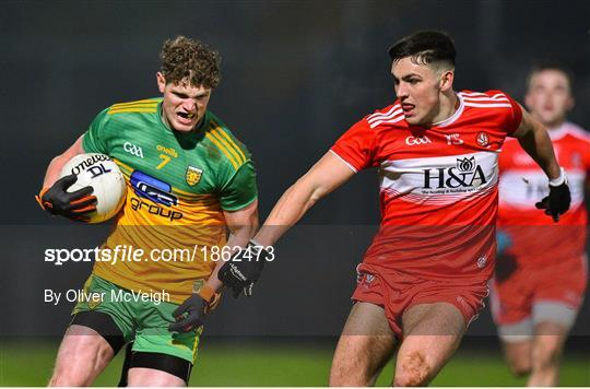 Derry v Donegal - Bank of Ireland Dr McKenna Cup Round 3