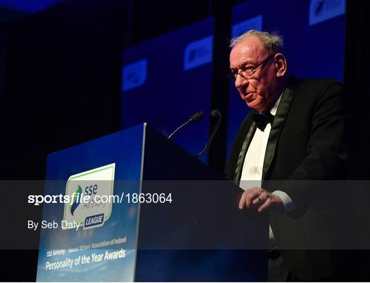 SSE Airtricity/SWAI Diamond Jubilee Personality of the Year Awards 2019
