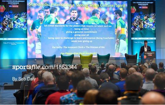 GAA Games Development Conference in partnership with Sky Sports