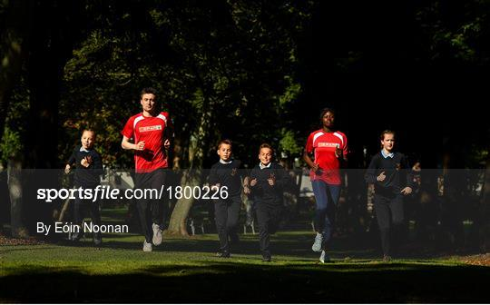The Daily Mile Launch Sponsored by SPAR