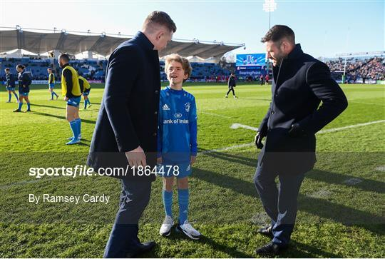 Mascots at Leinster v Lyon - Heineken Champions Cup Pool 1 Round 5