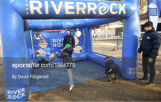 Activities at Leinster v Lyon - Heineken Champions Cup Pool 1 Round 5