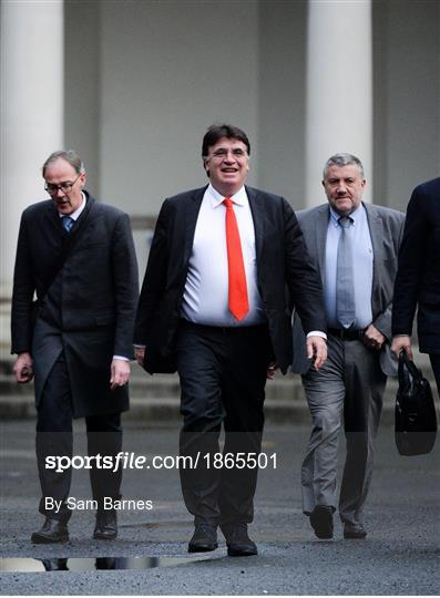 UEFA meet with Department of Transport, Tourism and Sport