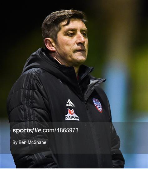 Drogheda United v Derry City - Pre-Season Friendly