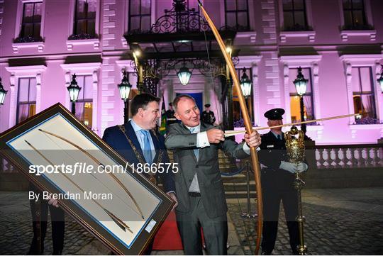 Jim Gavin conferred with Freedom of Dublin City
