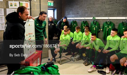 Republic of Ireland U15 v Australia U17 - International Friendly - Behind the scenes