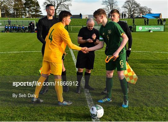 Republic of Ireland U15 v Australia U17 - International Friendly