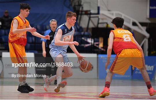 Coláiste Cholmcille, Ballyshannon v Castletroy College - Basketball Ireland U16 B Boys Schools Cup Final