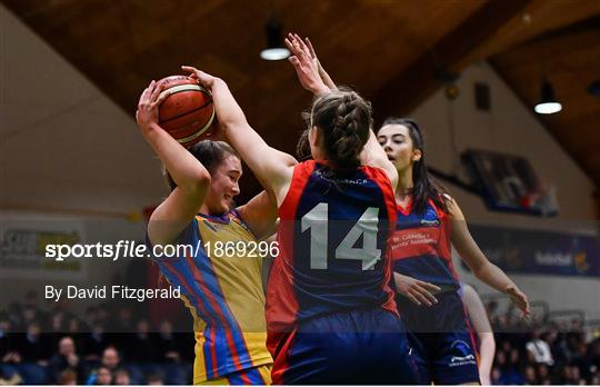 St Patrick's Academy Dungannon v St Colmcille's CS, Knocklyon - Basketball Ireland U19 B Girls Schools Cup Final