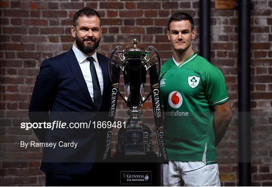 Guinness Six Nations Rugby Championship Launch 2020