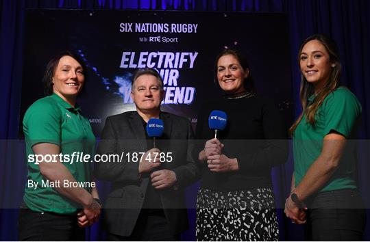 Launch of RTÉ's Six Nations Coverage