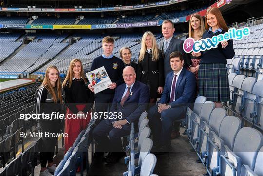 GAA / PDST Future Leaders Leagan Gaeilge Launch