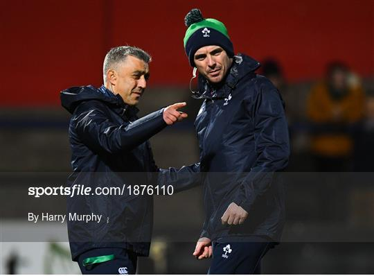Ireland v Scotland - U20 Six Nations Rugby Championship