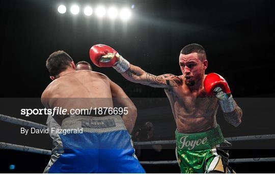 Boxing from the Ulster Hall in Belfast