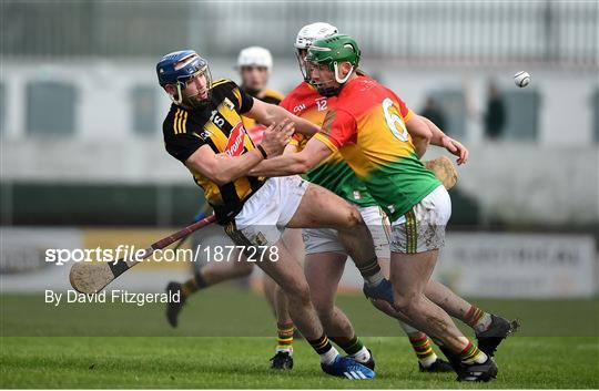 Carlow v Kilkenny - Allianz Hurling League Division 1 Group B Round 2