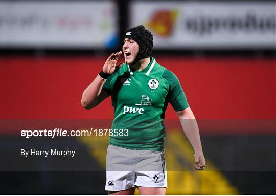 Ireland v Scotland - U20 Six Nations Rugby Championship