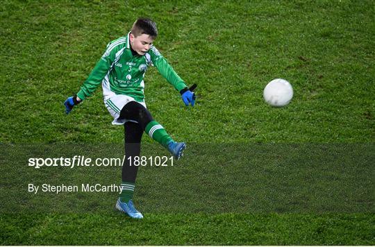 Allianz Cumann na mBunscol Half Time Game at Dublin v Monaghan - Allianz Football League Division 1 Round 3
